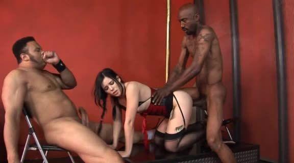 [Devil's Film] Big Black Beast 13 - Amy Starz (DP)/(Natural Tits)