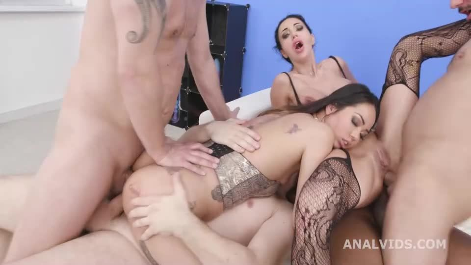 DAP and Pee, Pee Drink, Squirt, Gapes, ButtRose, ATOGM, Creampie and Swallow (LegalPorno) Screenshot 3