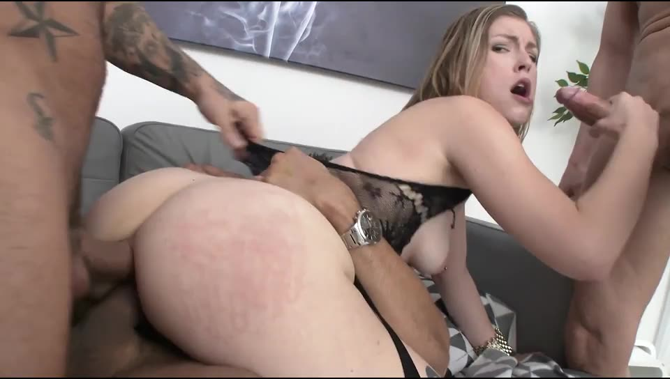[LegalPorno] American slut assfucked & DPed in Europe – Ella Nova (DP)/(Blonde)