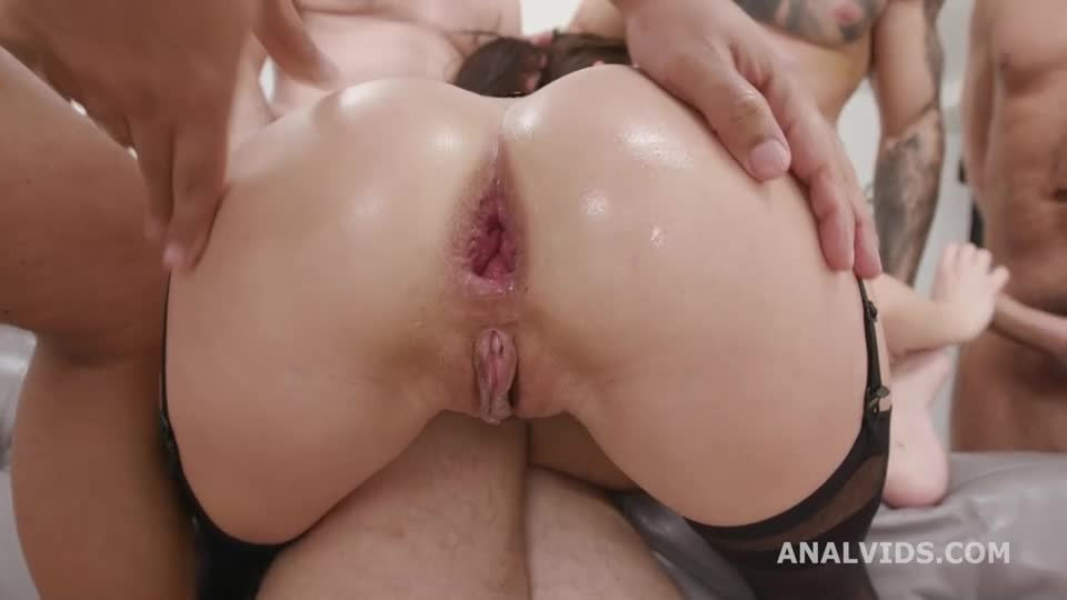 Triple Anal Gangbang, Balls Deep Anal, DAP, TAP, Big Gapes and 8 Creampies (LegalPorno / AnalVids) Cover Image