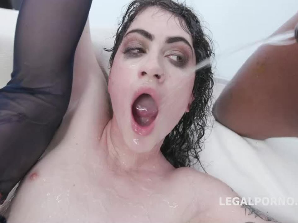 Black Piss, 4 BBC, with Manhandle, Balls Deep Anal, Gapes, Pee Drink and Facial (LegalPorno) Screenshot 5