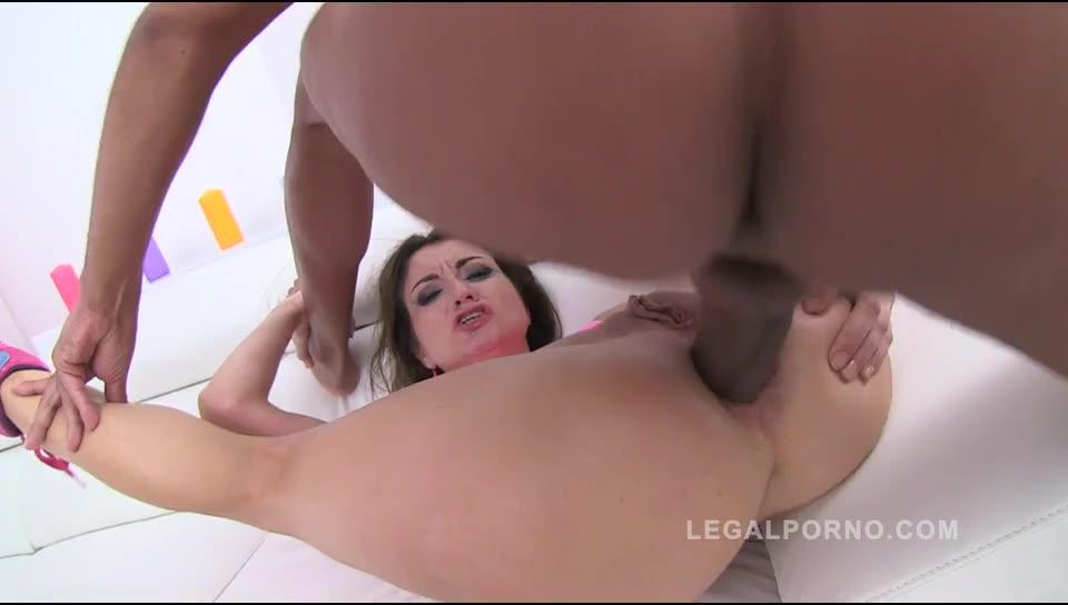 [LegalPorno] DAP & DP welcome to studio (hard anal fucking) - Valentina Bianco (DAP)/(Natural Tits)