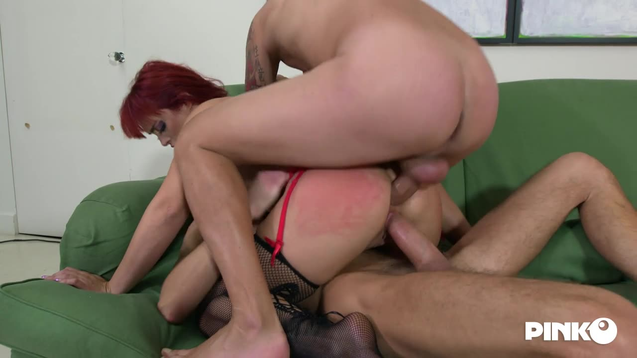[PinkoClub] Two Cocks Inside - Mary Rider (DP)/(High Heels)