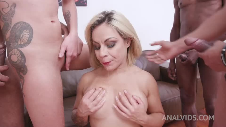 Hardcore orgy with DP, Piss Drinking YE035 (LegalPorno / AnalVids) Screenshot 3