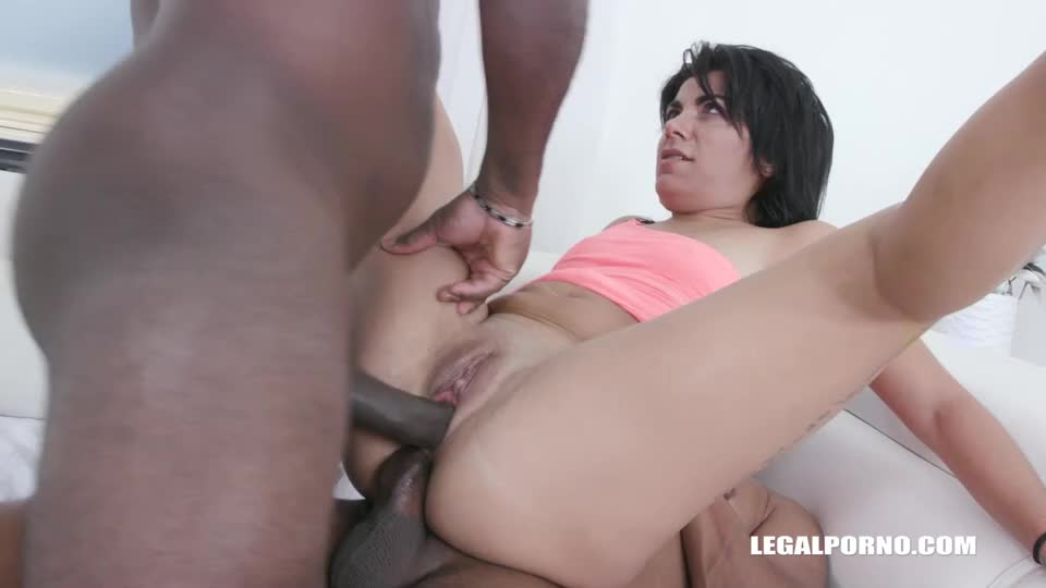 [LegalPorno] Discovers African Champagne - Alisia (DP)/(High Heels)