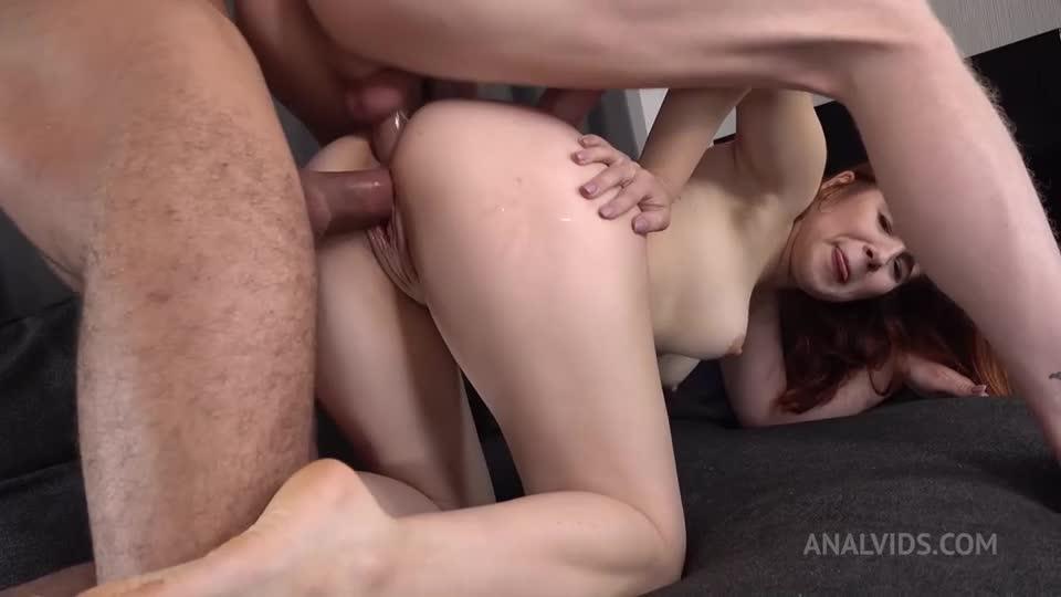 [LegalPorno / AnalVids] First DP – Hard Anal Fuck – Real Anal Orgasm – Squirting + GAG VK083 - Rita Fox (DP)/(Squirt)