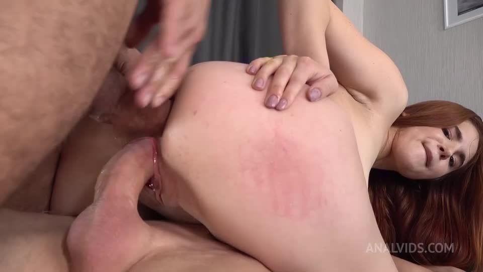 First DP – Hard Anal Fuck – Real Anal Orgasm – Squirting + GAG VK083 (LegalPorno / AnalVids) Screenshot 3