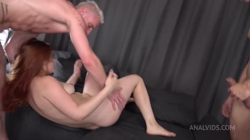 First DP – Hard Anal Fuck – Real Anal Orgasm – Squirting + GAG VK083 (LegalPorno / AnalVids) Screenshot 8