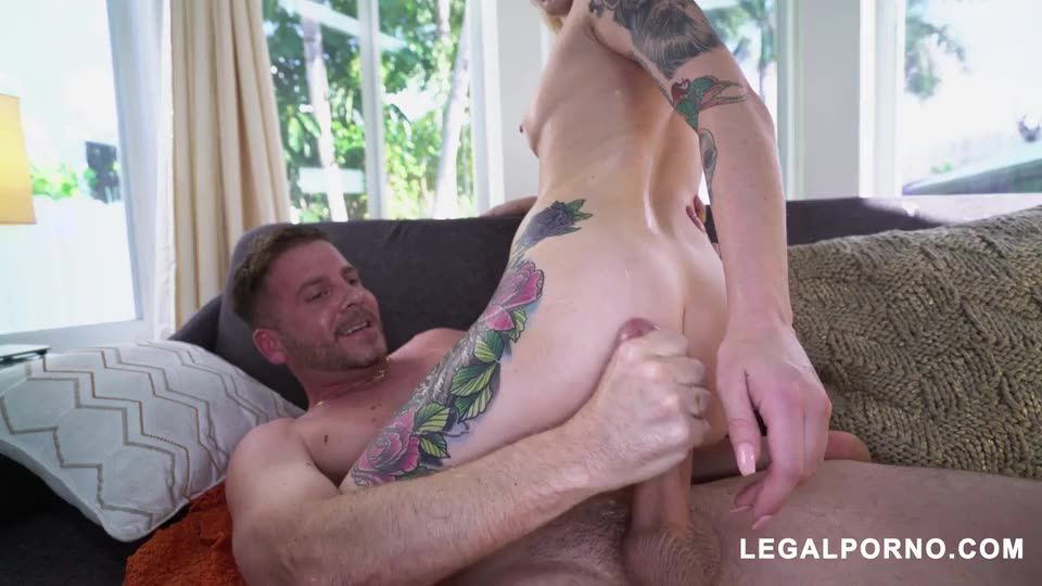 [LegalPorno] Tiny dirty slut Takes two dicks at once - Dakota Skye (DP)/(Natural Tits)