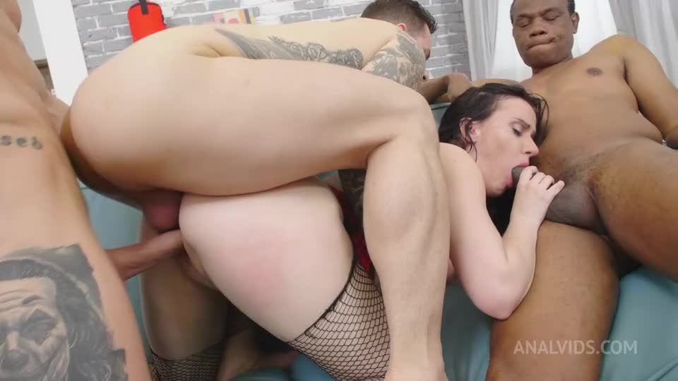 New girl first time on AV, first anal, first DP, first pissing, welcome PAF014 (LegalPorno / AnalVids) Screenshot 5