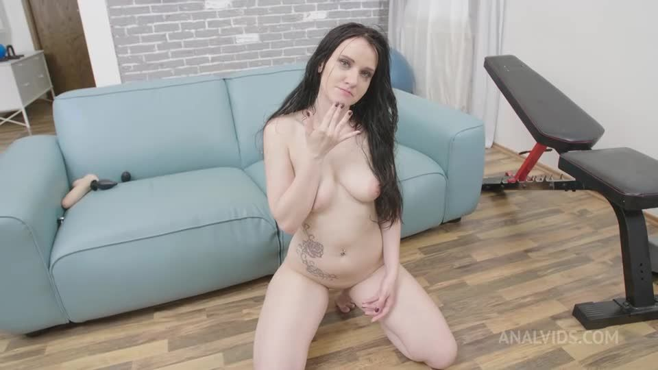 New girl first time on AV, first anal, first DP, first pissing, welcome PAF014 (LegalPorno / AnalVids) Screenshot 9