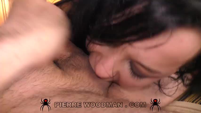 [WoodmanCastingX] Hard – Dped by 3 men - Daphne Klyde (DP)/(Brunette)