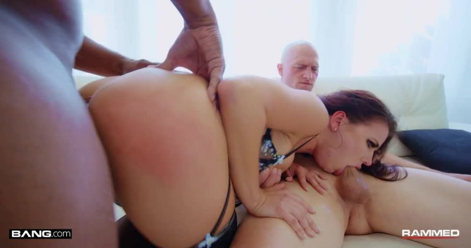 Takes Two Cocks In Her Holes In A Wild Double Penetration (Bang! Rammed/Bang! Originals / Bang) Screenshot 4
