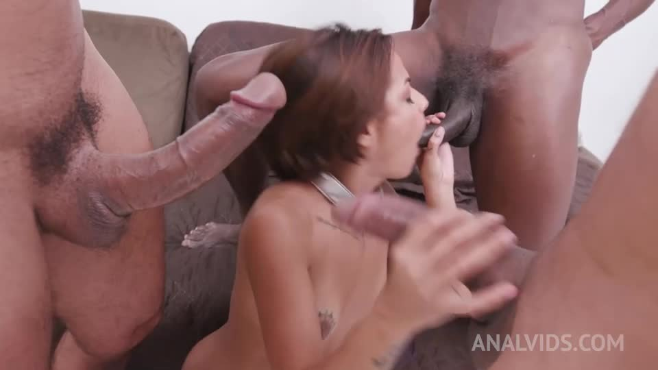 [LegalPorno / AnalVids] Submissive slut gets DP fucked Airtight YE038 - Lady Milf (DP)/(High Heels)