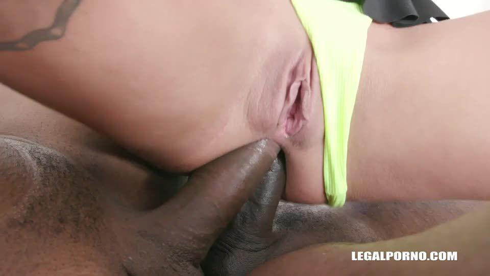 [LegalPorno] Sex game with kinky twins Part 2 - Eveline Dellai, Silvia Dellai (DAP)/(Interracial)