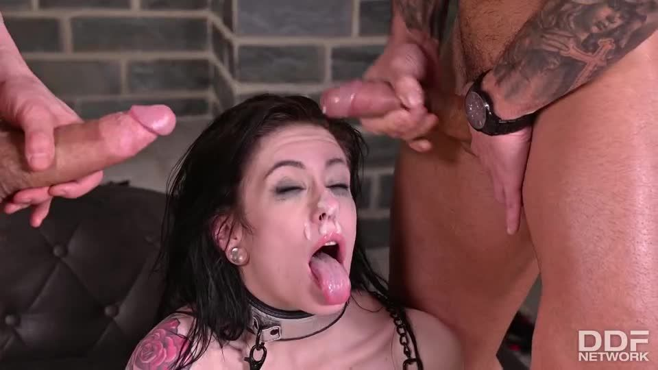 Housewife Ass Is Dominated By 2 Masters At Once (HandsOnHardcore / PornWorld) Screenshot 9