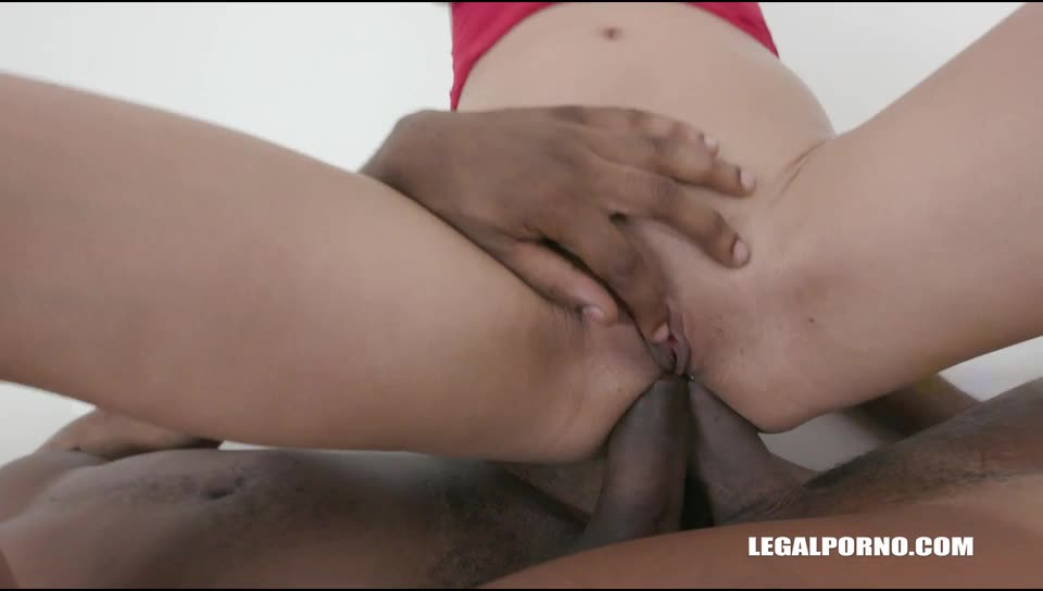 [LegalPorno] Discovers black feeling - Cherry Vine (DAP)/(Natural Tits)