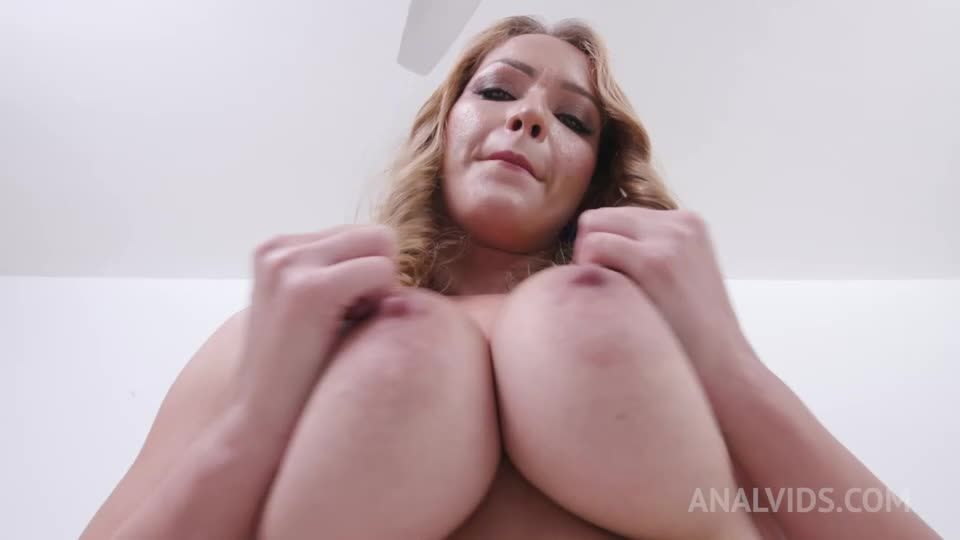 Busty gets fucked with DP, DAP and her first triple penetration YE139 (LegalPorno / AnalVids) Screenshot 1