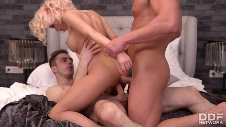Handyman & Hubby Try To Satisfy Horny Little Ukrainian Nympho (HandsOnHardcore / PornWorld) Screenshot 7