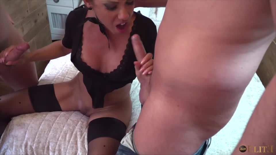 Rose Drops Two Guys In Her Trap (JacquieetMichel / AdultTime) Screenshot 1