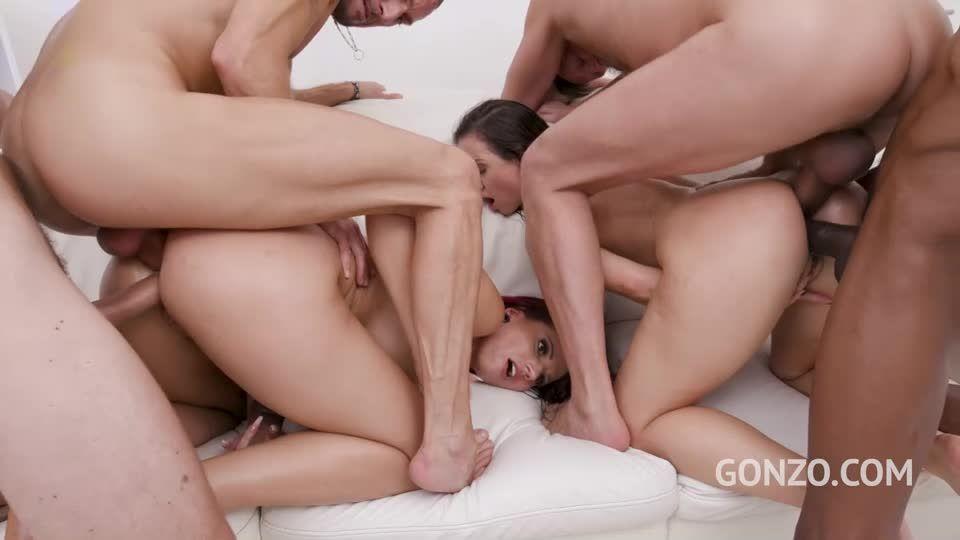 Big butts Vs DAP team! Drinks included (LegalPorno / Gonzo) Screenshot 6
