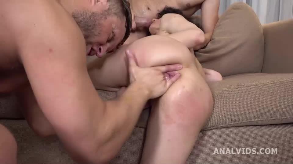 Russian Rose, Balls Deep Anal, DAP, Gapes, ButtRose and Swallow (LegalPorno / AnalVids) Screenshot 9