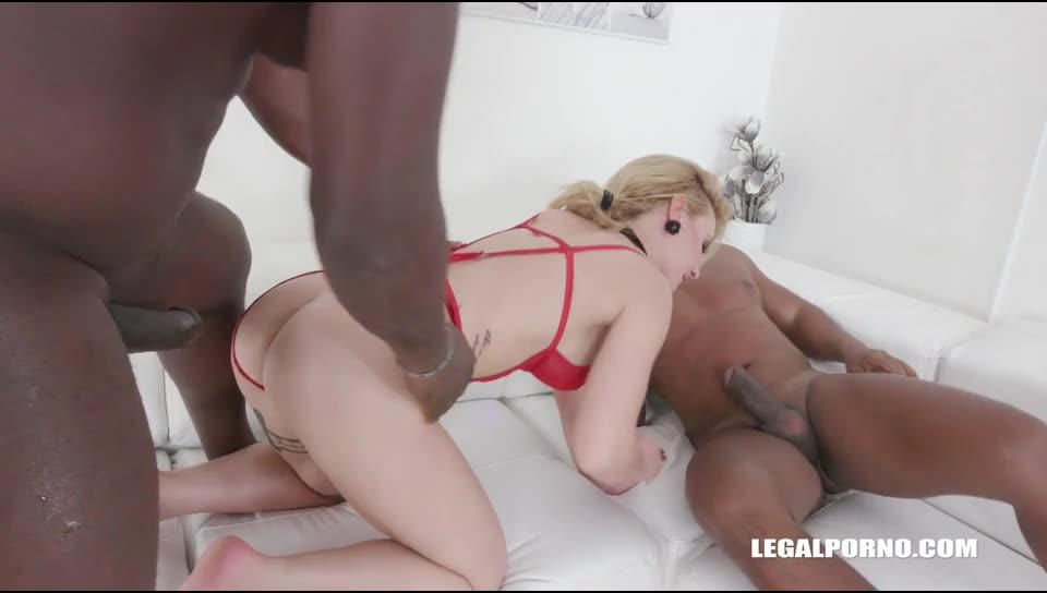 [LegalPorno] Discovers black feeling & high anal - Helena Valentine (DP)/(Tattoo)