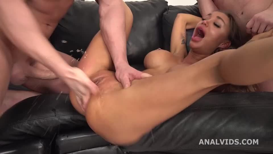Goes Rough and wet, Balls Deep Anal, DAP, Pee Drink, Buttrose and Swallow (LegalPorno / AnalVids) Screenshot 2