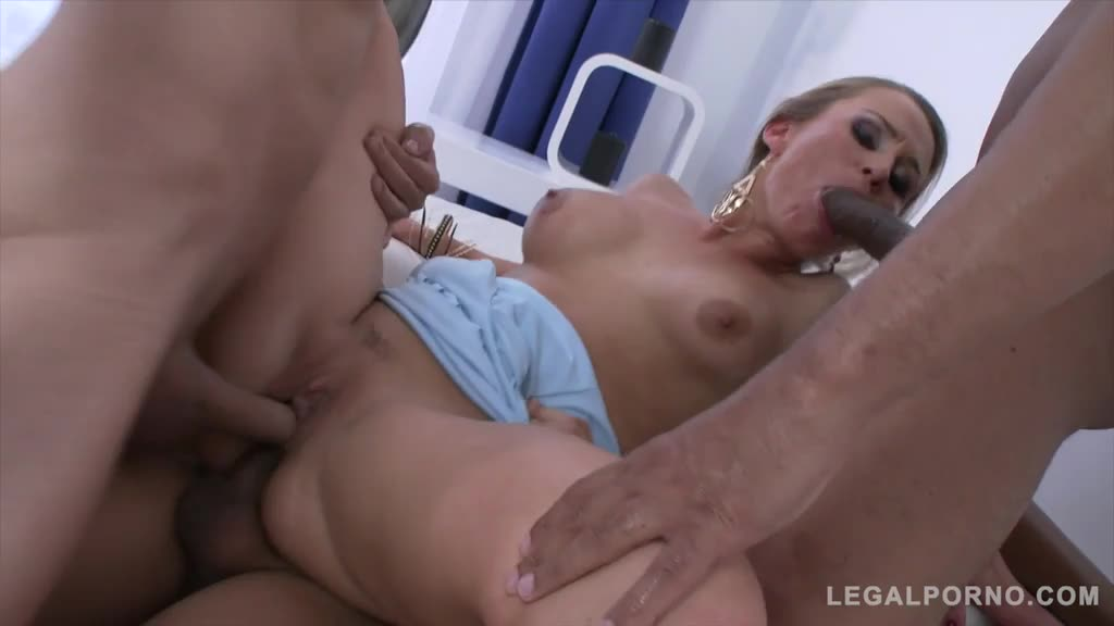 [Gonzo / LegalPorno] Double Penentration - Laura Crystal (DAP)/(Blonde)