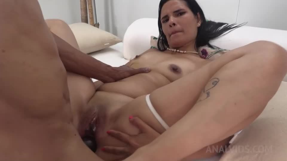 Anal fucked with double penetration by 2 BBC NT033 (LegalPorno) Screenshot 7