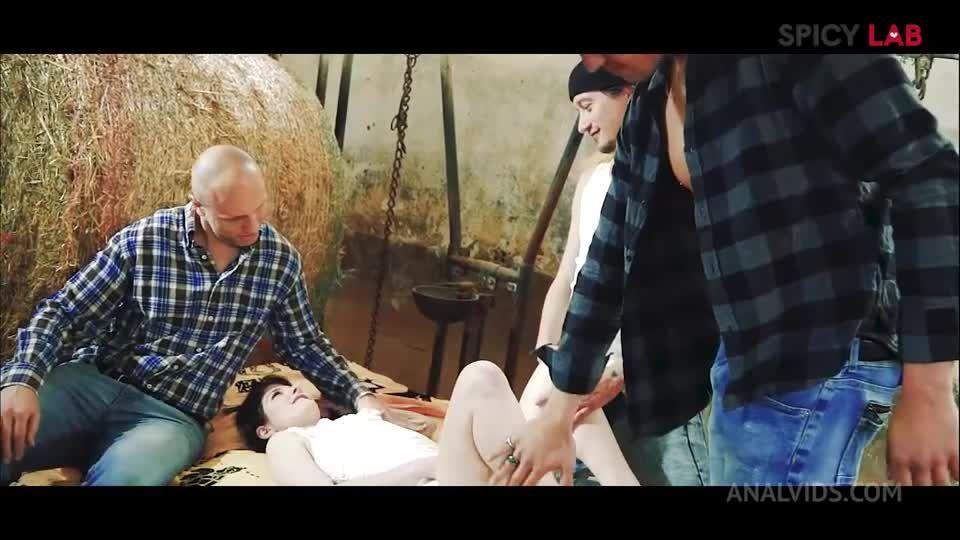 GangBang in the farm MS111 (LegalPorno / AnalVids / SpicyLab) Screenshot 0