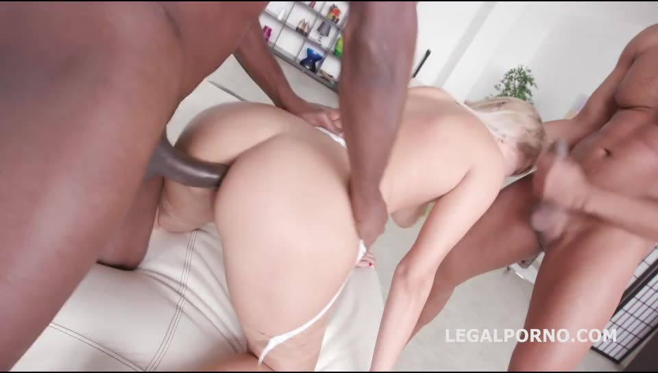 [LegalPorno] BBC DAP, DP /Monster Gapes/DAP /Deepthroat /5 Facials. What a fucking gape! - Dream Nikky (DP)/(Blonde)