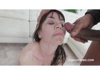 Waka Waka Blacks are Coming, 4 BBC, balls deep anal, DAP, Gapes, Facial and Swallow (LegalPorno) Screenshot 2