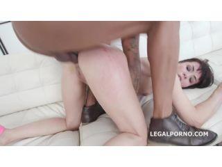 Waka Waka Blacks are Coming, 4 BBC, balls deep anal, DAP, Gapes, Facial and Swallow (LegalPorno) Screenshot 7