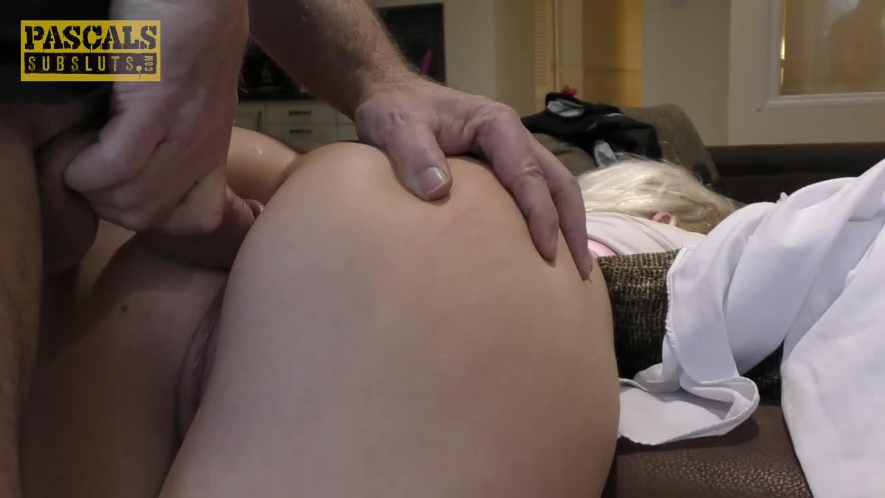 [PascalsSubSluts] Doubled up - Gina Varney (DP)/(Natural Tits)