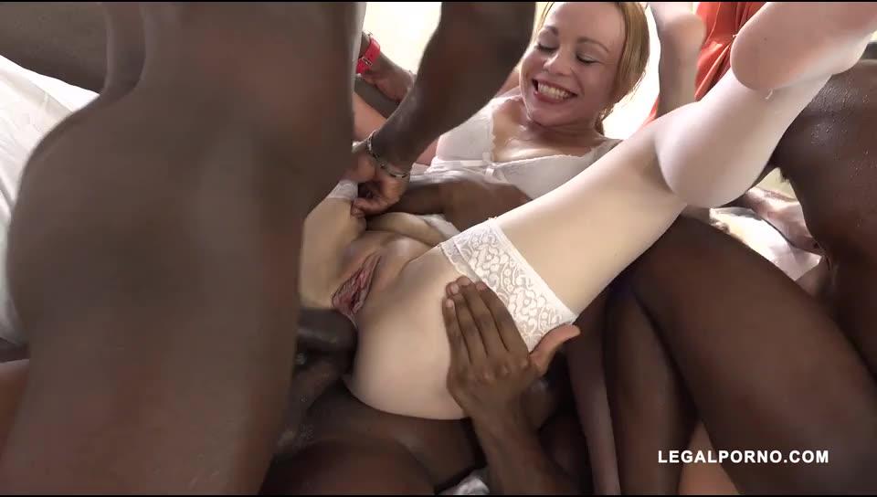 [LegalPorno] Anal fisting for two whores who like to play sex game Part 2 - Caroline De Jaie, Rebecca Black (DAP)/(Blonde)