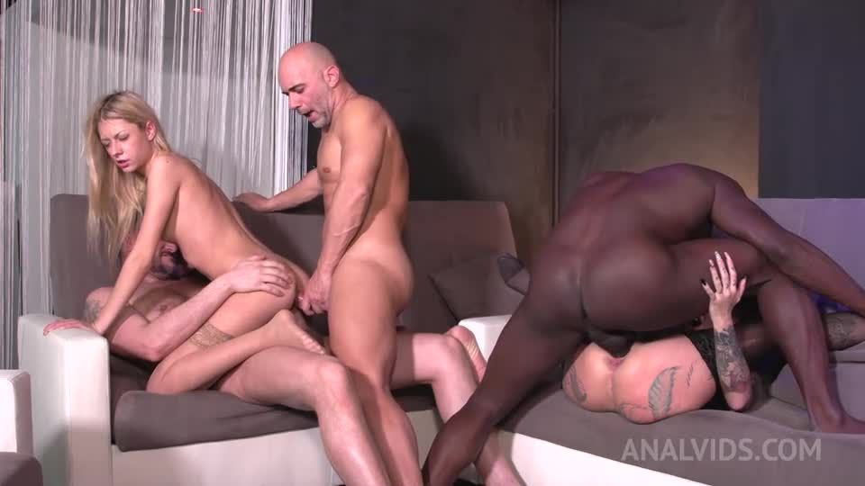 Swinger Club Orgy, DP, swallow, ATM MS001 (LegalPorno) Screenshot 1