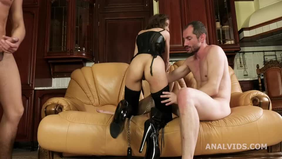 Wet Welcome to Porn, Balls Deep Anal, DP, Gapes and Cum in mouth (LegalPorno) Screenshot 4