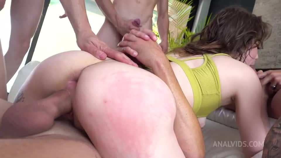 Eden Does.. 5 guys for the first time! DP, DPP, Air-tight ED002 (LegalPorno / AnalVids) Screenshot 7