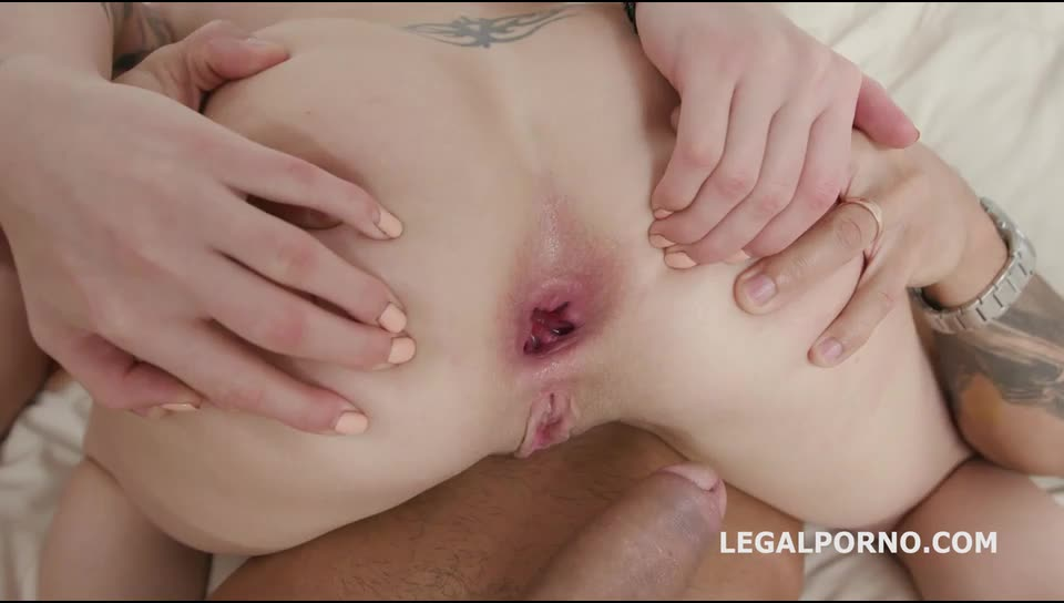 [LegalPorno] Ninfo Animal Squirting Battle with Balls deep Anal, DAP, Gapes, Cumswapping with Swallow - Monika Wild, Jolee Love (DAP)/(Brunette)