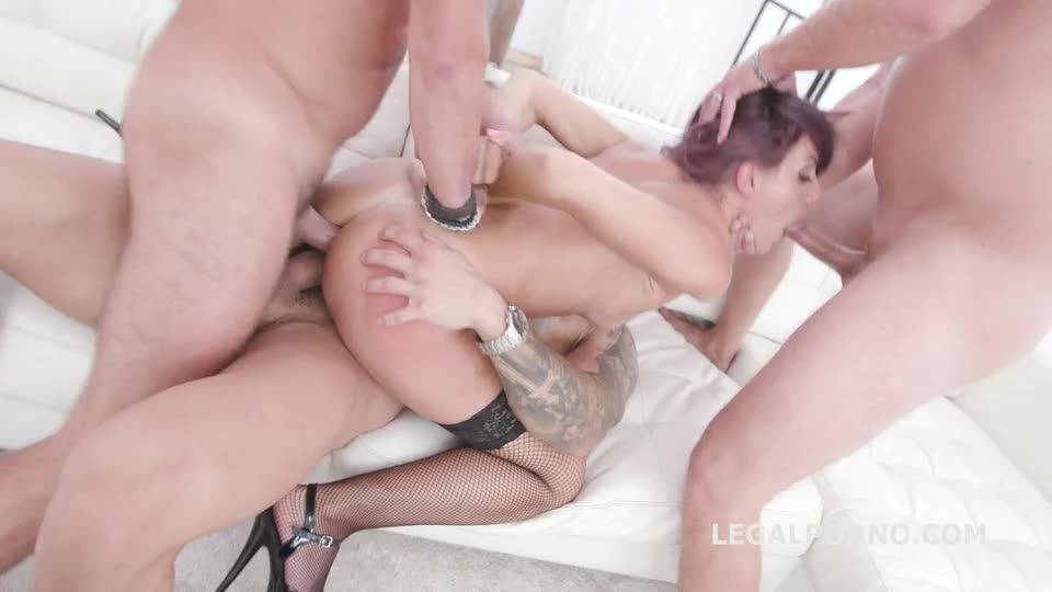 [LegalPorno] Manhandle goes Rough with Balls Deep Anal, Gapes, DAP, Facial - Vicky Sol (GangBang)/(Rough)
