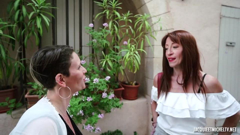 In Marseille, Anna Takes A Double Ration Of Pleasure! (JacquieEtMichelTV / Indecentes-Voisines) Screenshot 0