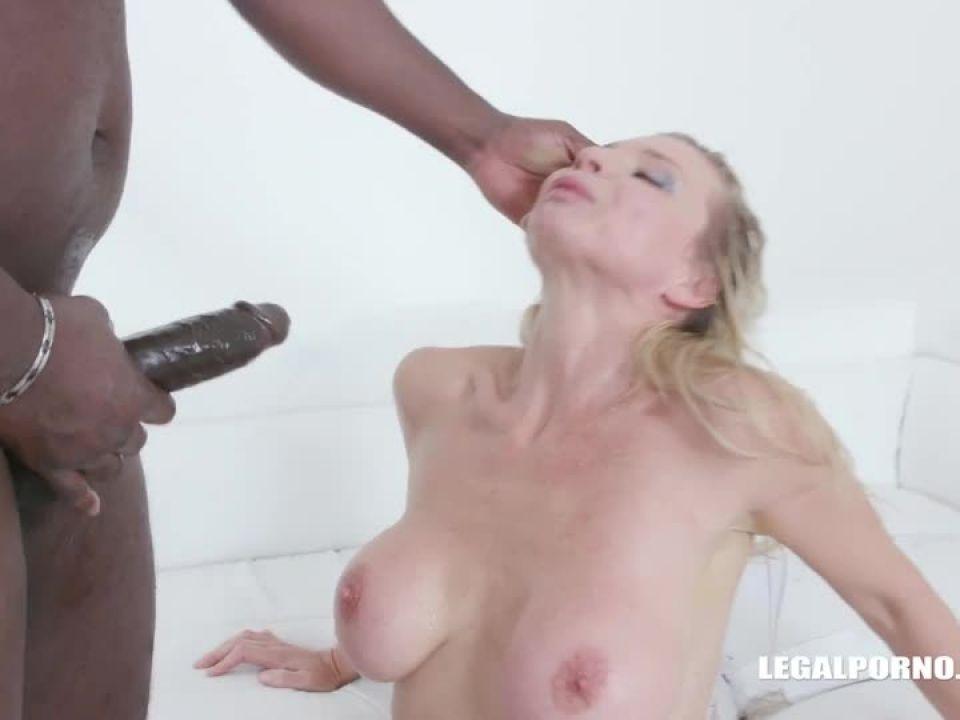 Enjoys black cocks and black champagne (LegalPorno) Screenshot 7