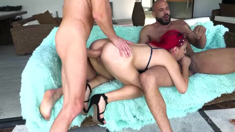 Petit colombian hottie gets her first DP with airtight NT063 (LegalPorno) Screenshot 3