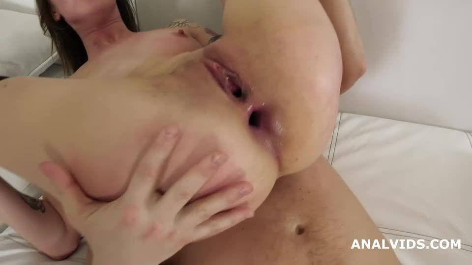 My First DP, Balls Deep Anal, DP, Manhandle, Gapes and Facial (LegalPorno) Screenshot 8