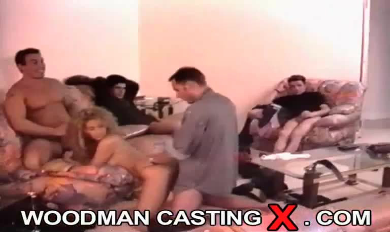 [WoodmanCastingX] Bts Sofa 4 - Draghixa (DP)/(Stockings)