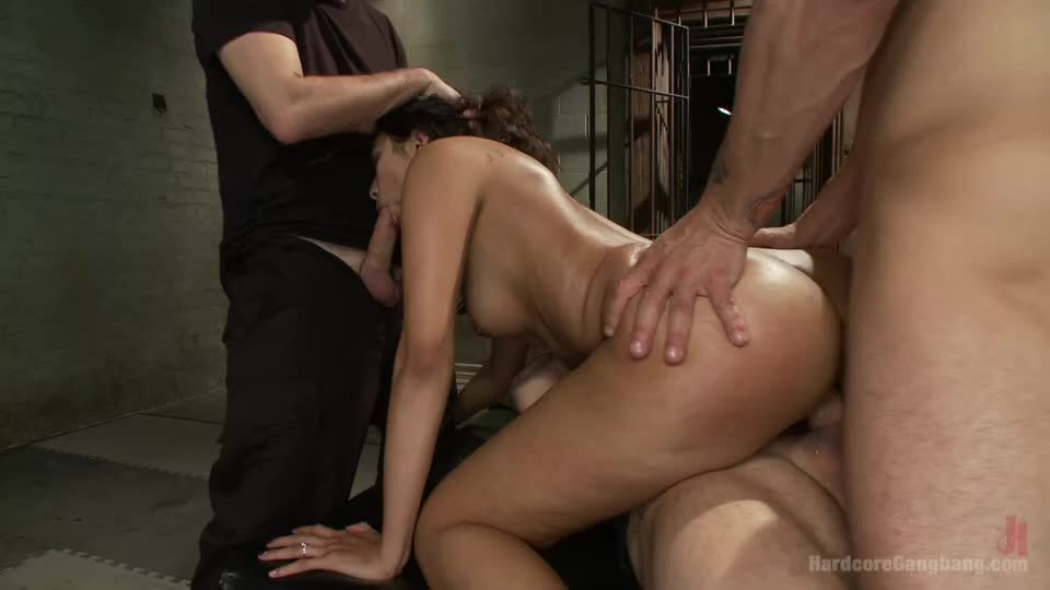 20 Yr Old Fails The Takedown Challenge, Gets Her FIRST Gangbang & DP! (HardcoreGangBang / Kink) Cover Image