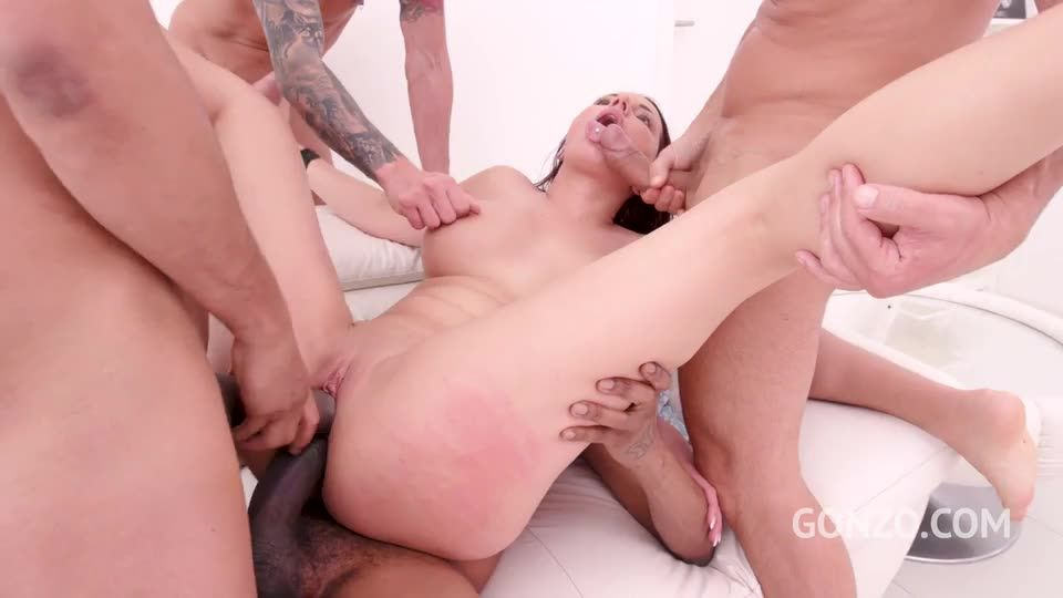 [LegalPorno] Assfucked balls deep by monster cock team - Jolee Love (GangBang)/(Tattoo)