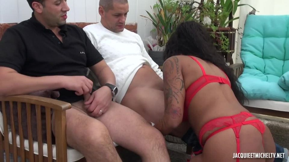 We Go Up To 7Th Heaven With Karine! (JacquieEtMichelTV / Indecentes-Voisines) Screenshot 1