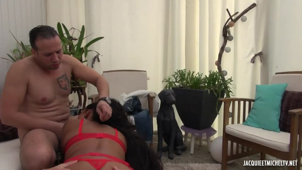 We Go Up To 7Th Heaven With Karine! (JacquieEtMichelTV / Indecentes-Voisines) Screenshot 4